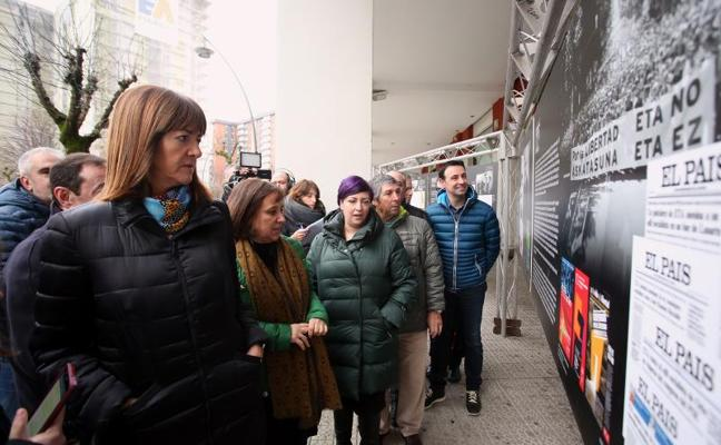 Idoia Mendia: «El fin de la dispersión depende de la voluntad de los presos de ETA»