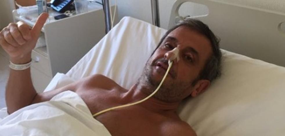 Luis Moya abandona la UCI una semana después de sufrir tres aneurismas cerebrales