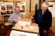 La exposición de una maqueta del templo cierra el aniversario del Espíritu Santo