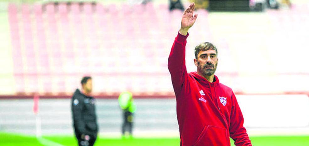 'Bolo' califica de «justo» el empate logrado por el Arenas ante el Peña Sport