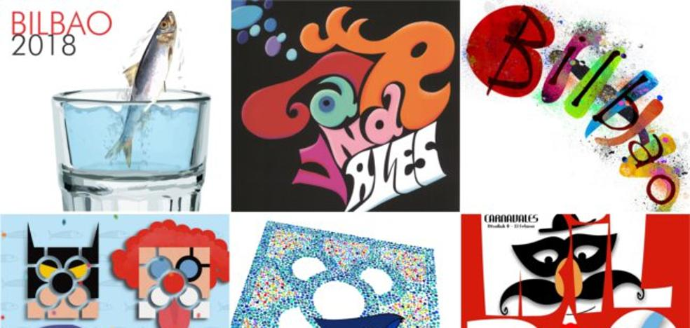 Vota por tu cartel favorito para los carnavales de Bilbao