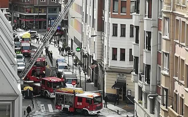 Controlado el fuego originado en el asador Kerren de Bilbao