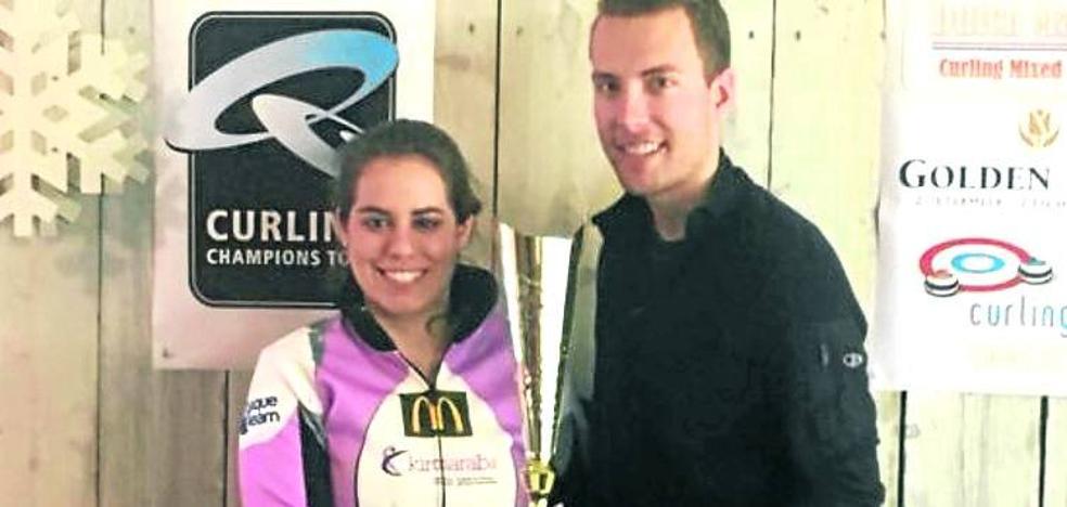Irantzu García se distingue como la primera española en lograr un triunfo en la World Curling Cup