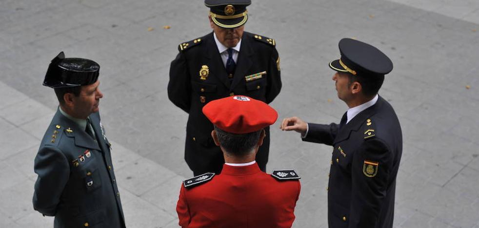 Las Fuerzas de Seguridad del Estado han reducido en 753 sus efectivos en Euskadi desde el cese de ETA