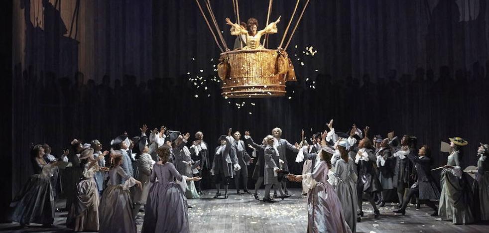 El Euskalduna ofrece este sábado la ópera francesa 'Manon', «ambientada en los tiempos de refinamiento y lujuria del siglo XVIII»