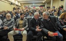 El fútbol vizcaíno arropa al Santutxu en su centenario