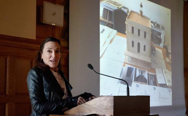 Cristina Iglesias: «Estaré entre Chillida y Oteiza, pero invisible desde la bahía»