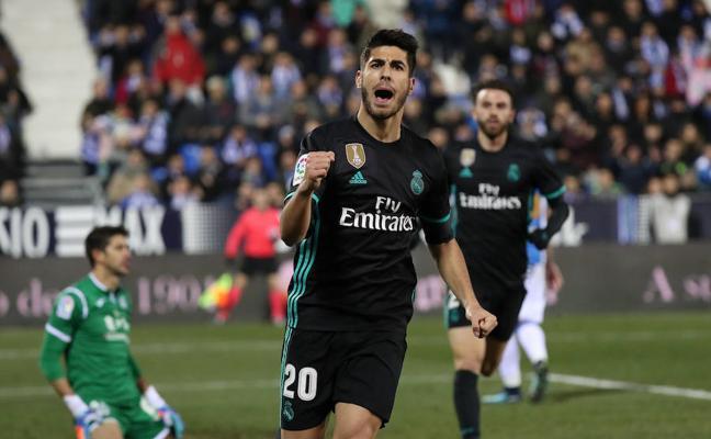 Marco Asensio salva otro día gris del Real Madrid