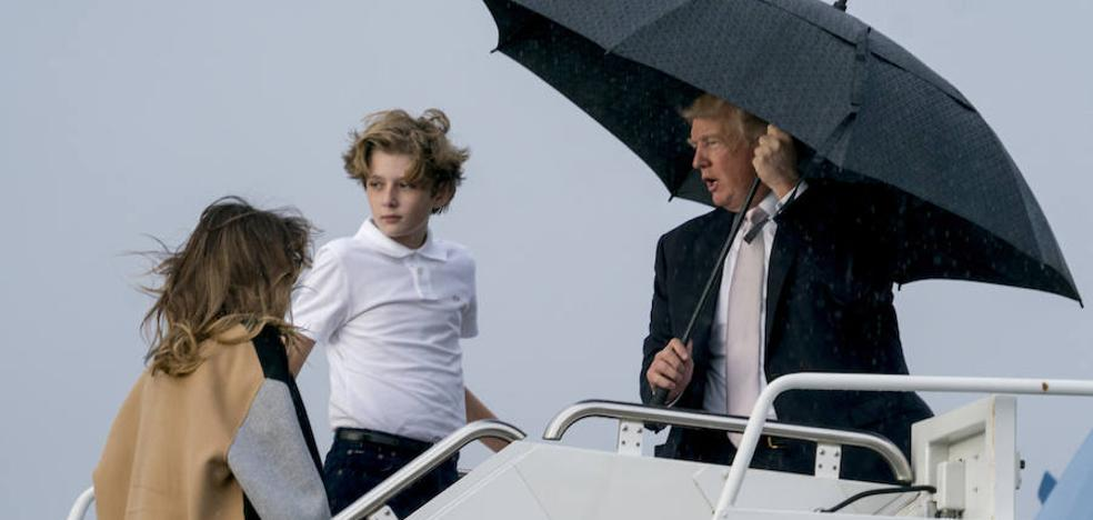 La tormenta persigue a Trump