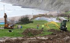 Getxo inicia los trabajos para restablecer la estabilidad de la ladera de Arrigunaga