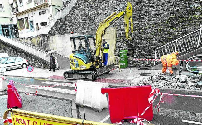 Asfaltados y cruces de calles más seguros en Eibar