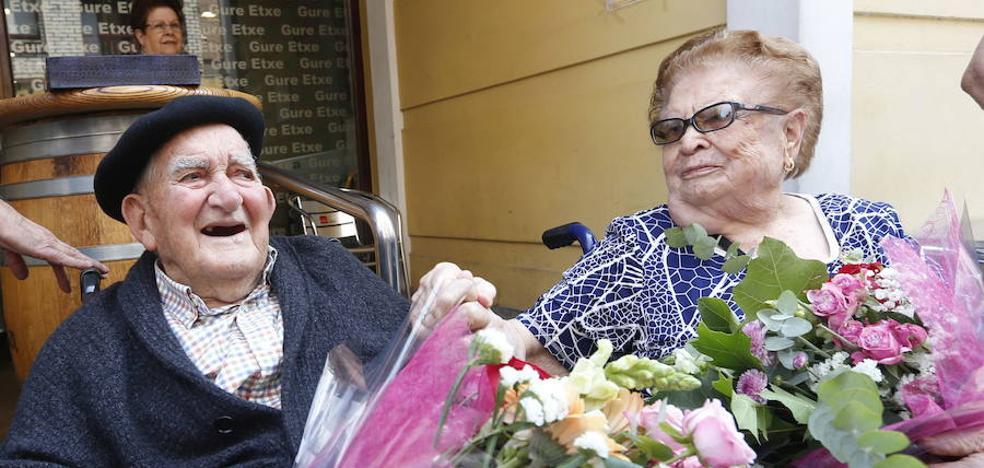 Ugao despide hoy a Luis Etxebarria, el último gudari de la villa