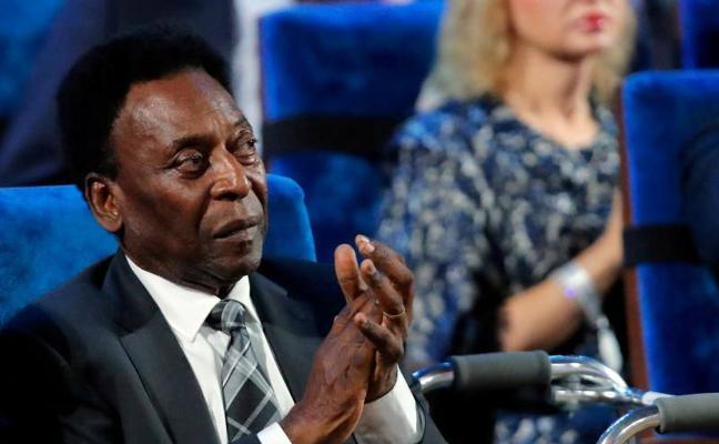 La asesoría de Pelé niega que el astro haya sido hospitalizado