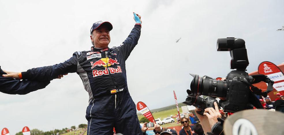 Las mejores imágenes del Dakar de Carlos Sainz