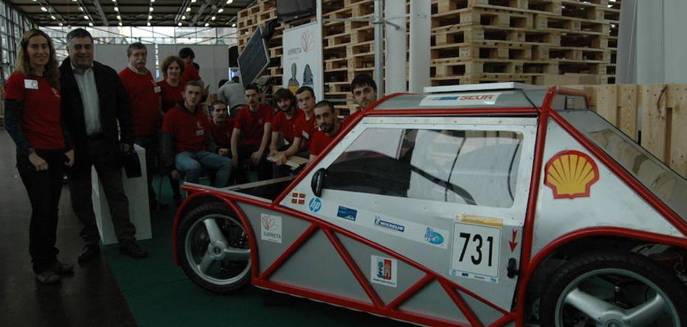 El instituto de FP de Iurreta correrá con su prototipo eléctrico en la competición de Euskadi