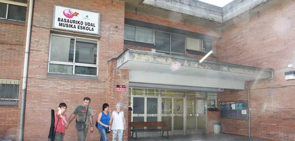 El Ayuntamiento de Basauri licita por un millón de euros la gestión de la escuela de música