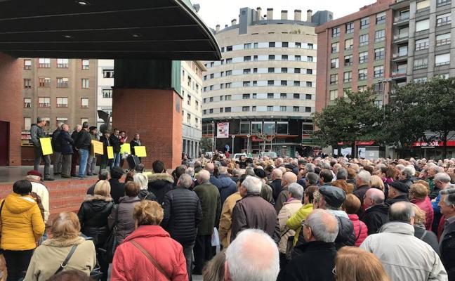 La movilización por las pensiones se hace fuerte en Barakaldo