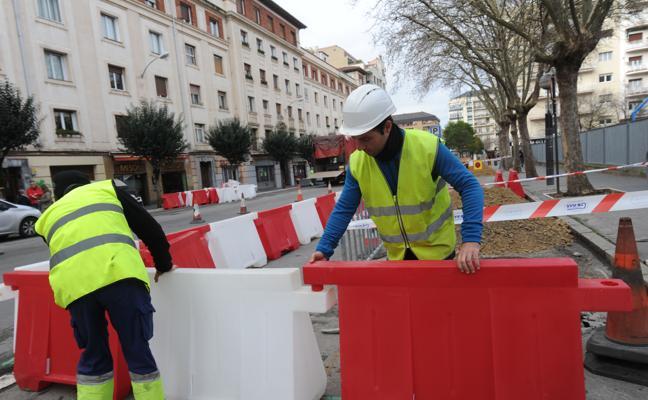 Arranca la obra civil del tranvía al campus
