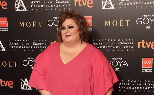Itziar Castro denuncia 'gordofobia' en un reportaje de desnudos de los nominados a los Goya