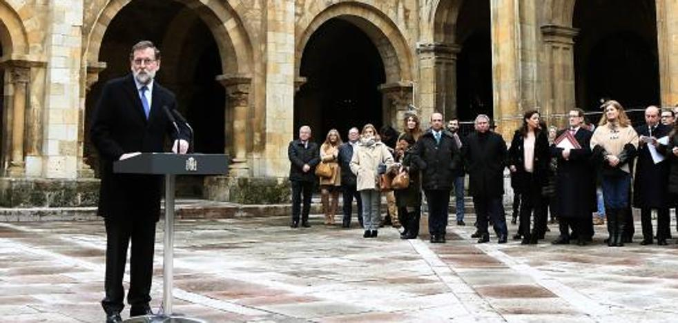 Rajoy recalca que «no hay ninguna alternativa» a la ley en Cataluña