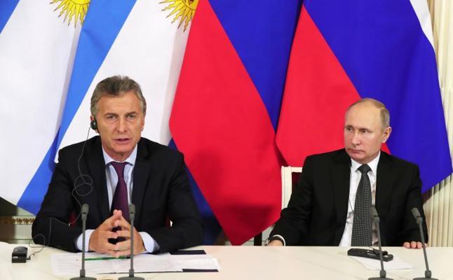 Macri se afana en conservar la buena relación con Rusia que tuvo Kirchner
