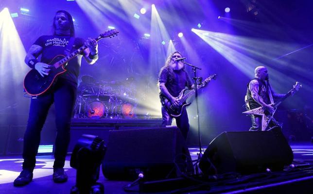 La banda de thrash metal estadounidense Slayer dice adiós