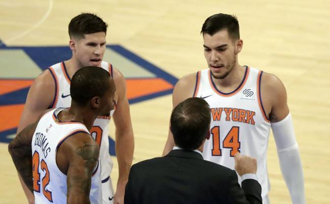 Willy Hernangómez brilla en la derrota de los Knicks