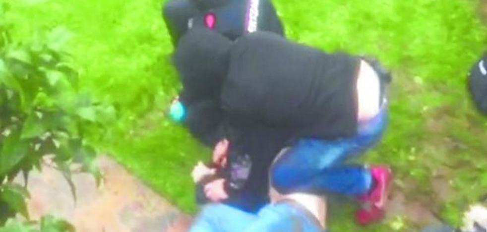 Detenido un alumno en San Sebastián por enfrentarse a un ertzaina en un control antidroga