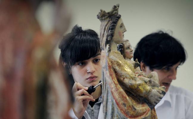 La mitad de los graduados vascos en Bellas Artes ejercen pero no pueden vivir de su labor