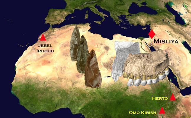 Hallan en Israel los restos más antiguos de 'Homo sapiens' fuera de África