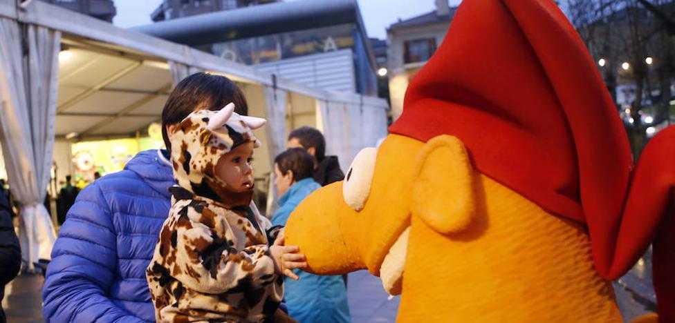 Un multitudinario desfile inaugurará el amplio programa de los carnavales de Galdako