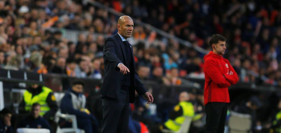 Zidane: «Hicimos un grandísimo partido ante un equipo que va por delante de nosotros»
