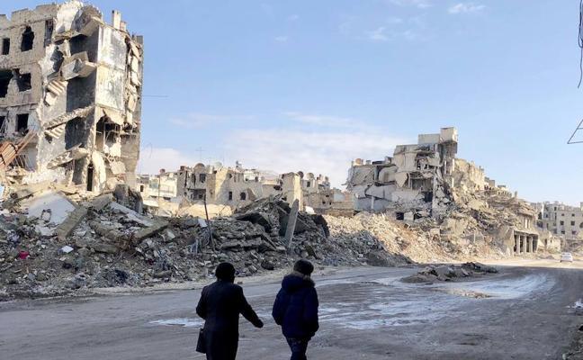 Alepo trabaja para dejar atrás la pesadilla de la guerra