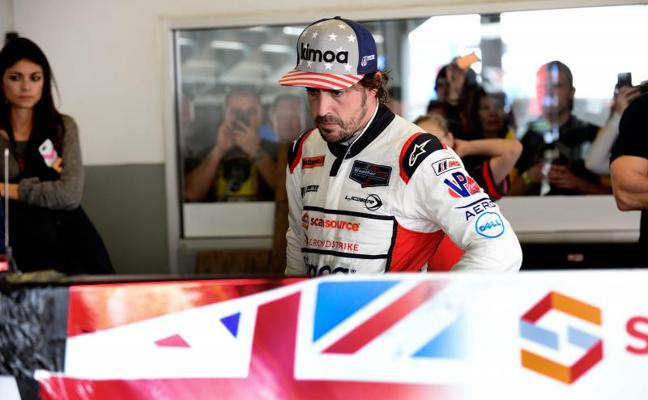 Fernando Alonso sale de Daytona con la mirada puesta en Le Mans
