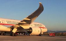 Un avión de lujo aterriza en Loiu con gobernantes de Abu Dabi