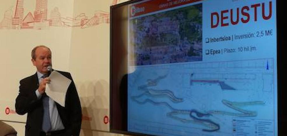 Un conjunto de caminos peatonales mejorará el acceso a Arangoiti desde Deusto