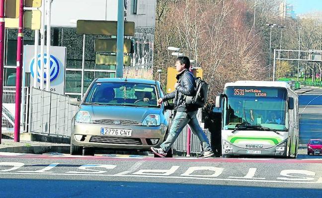Leioa aumentará la seguridad de los peatones en el acceso al casco urbano desde Getxo