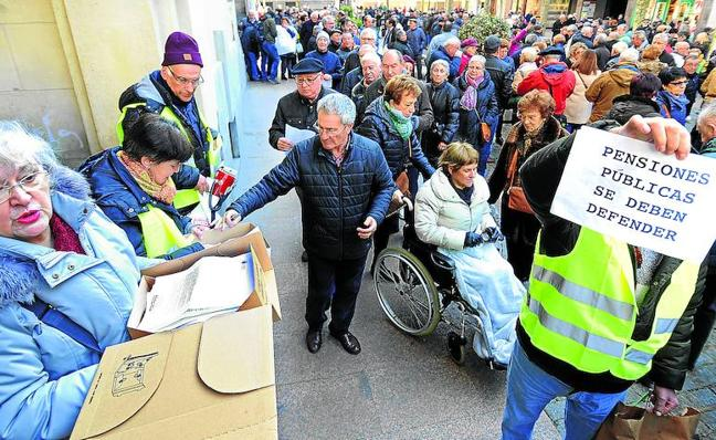 Indignados sénior por las pensiones