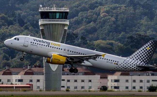 El aeropuerto de Bilbao tendrá conexión directa todo el año con Milán