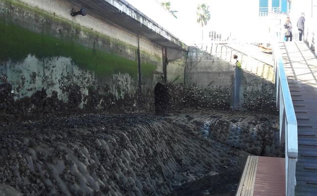 URA pondrá freno a los vertidos fecales en el puerto de Santurtzi