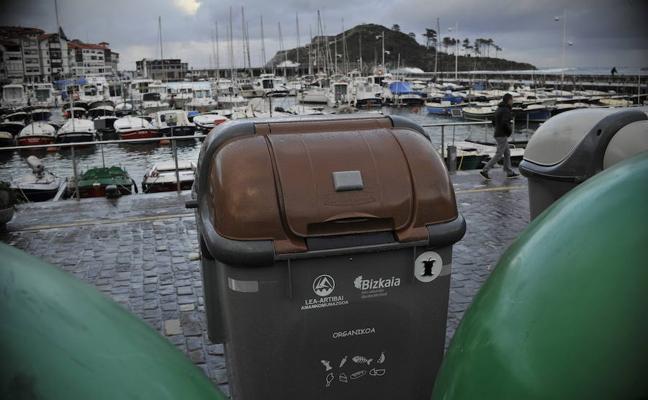 Lekeitio recoge once toneladas de basura orgánica en menos de un mes