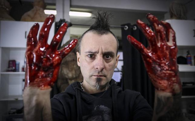 El creador de pesadillas de Sopela que sueña con ganar un Goya el sábado