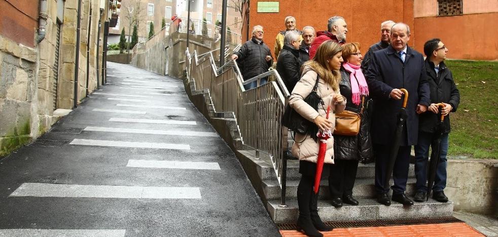 Bilbao renueva la calle Iturburu