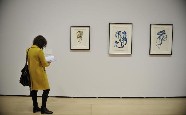Fotos: exposición en el Guggenheim de Henri Michaux