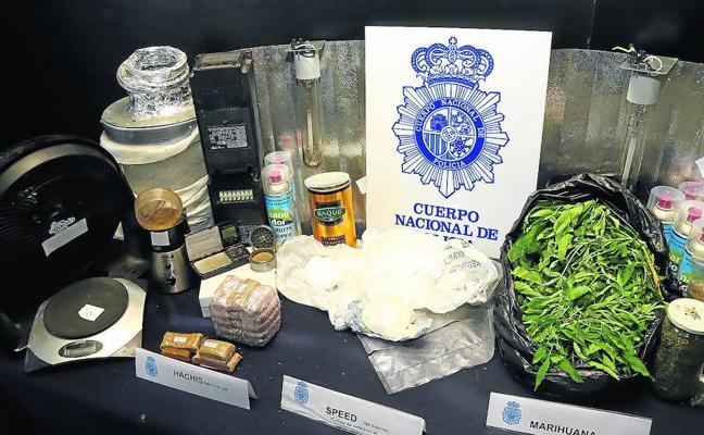 La Policía Nacional constata «un incremento» de la presencia de droga en la calle
