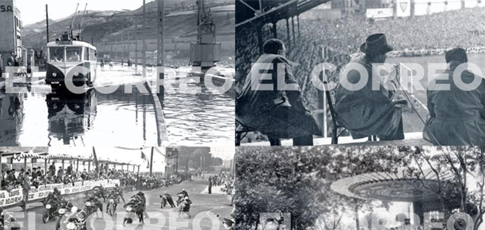 Recuerdos del Bilbao en blanco y negro