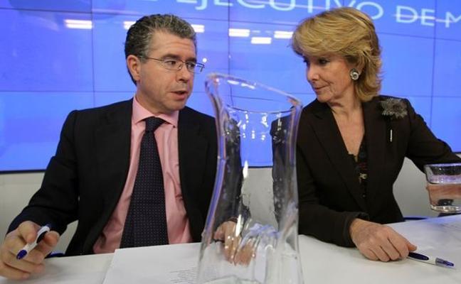 Granados planea confesar al juez la presunta 'caja B' del PP de Aguirre