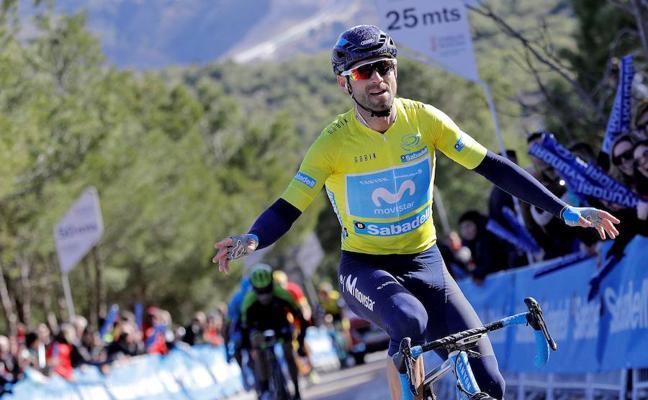 Valverde sentencia la Vuelta a la Comunidad Valenciana