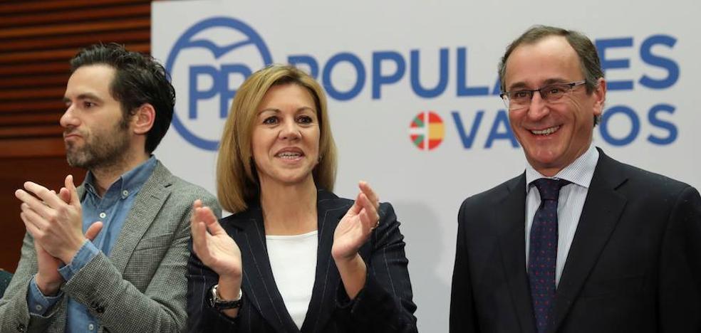 «La derrota final de ETA será que no ganen el relato», dice Cospedal