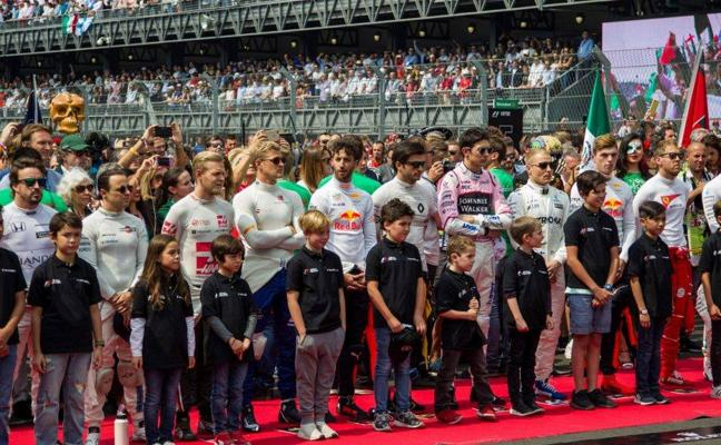 La Fórmula 1 decide sustituir las 'Grid Girls' por los 'Grid Kids'